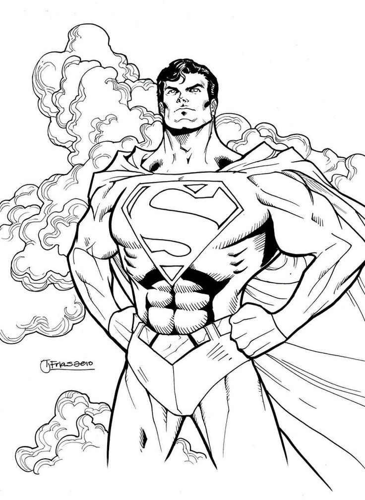 Superman Superhero Coloring Pages Superhero Coloring Avengers Coloring Pages