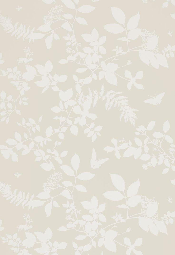 Home diy wallpaper illustration arthouse imagine fern plum motif vinyl - Wallcovering Wallpaper Shadow Vine In Bone Schumacher