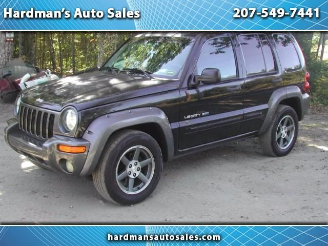 Used 2003 Jeep Liberty Sport Freedom Edition 4WD for Sale in Whitefield  ME 04353 Hardman's Auto Sales