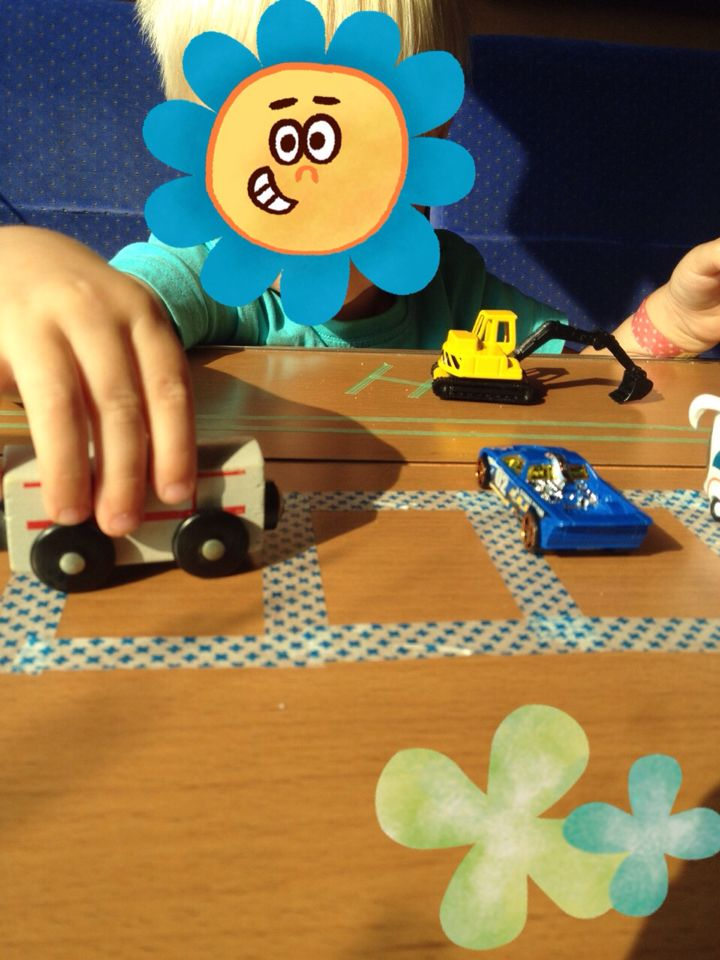 Zugfahrt  Autos Zug Kinder Beschäftigung