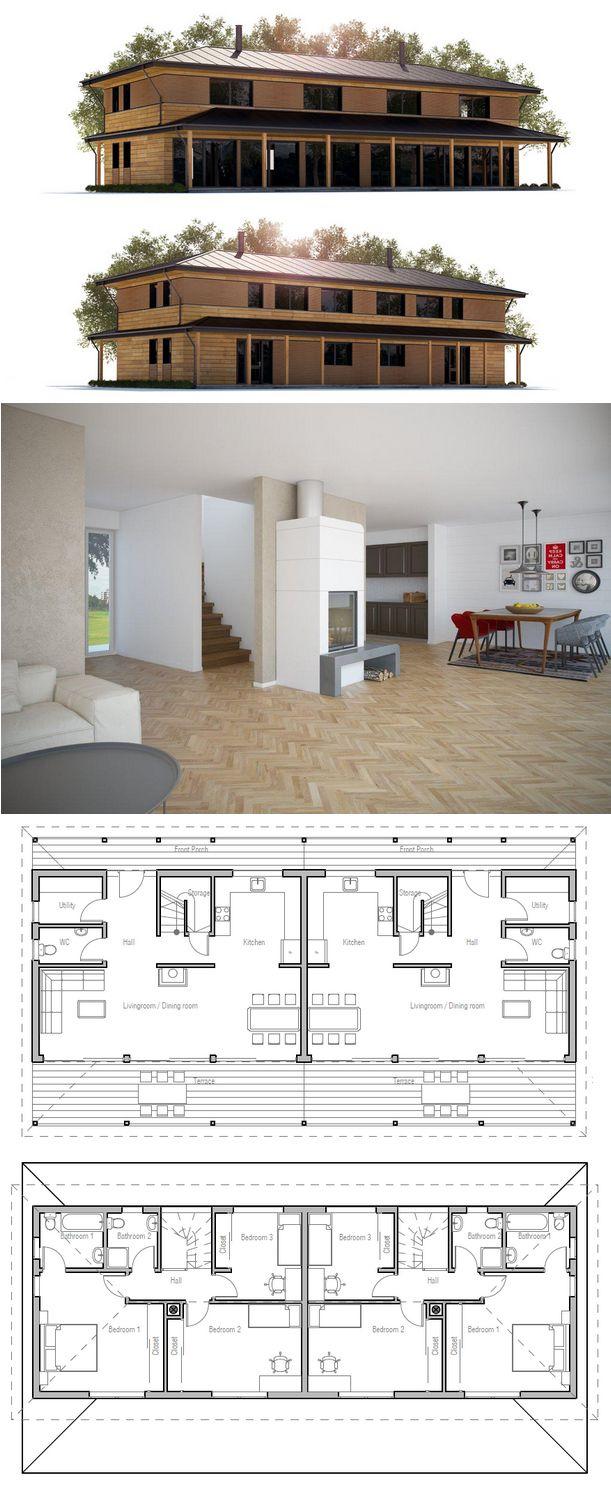 Best Ideas About Duplex House On Pinterest Duplex House Plans - Interior house plans