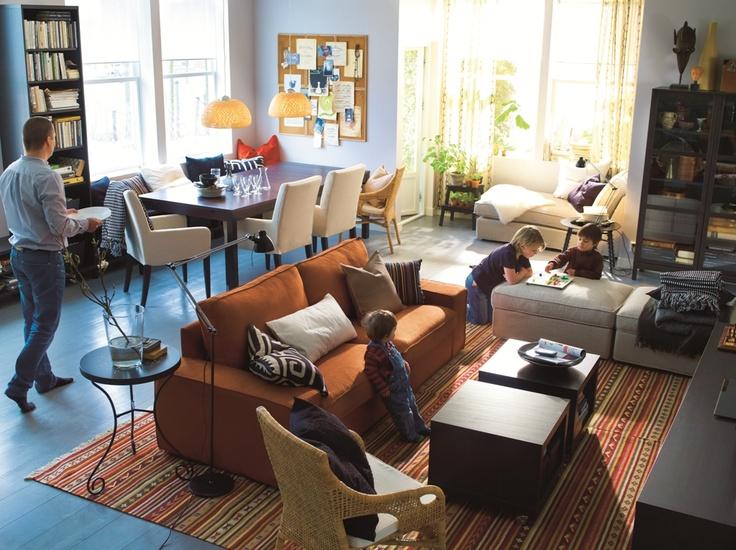 IKEA Oturma Odası - Her gün ev keyfi!
