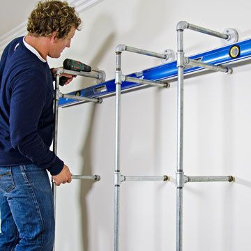 How to make pipe shelving - Yahoo7