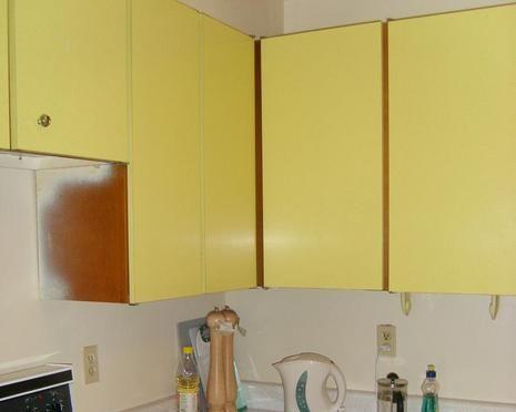 Flat Cabinet Doors Makeover