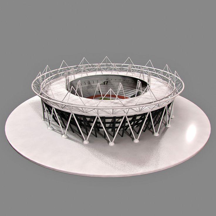 3D Model Olympic Stadium London - 3D Model