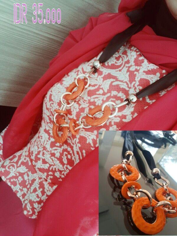 orange ring neckless disc 10% call/sms/ whatsapp 085216332233