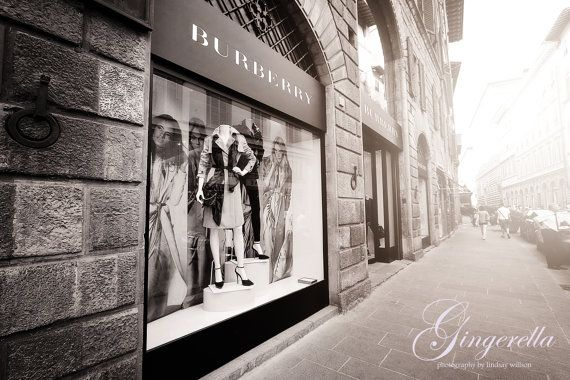 Italy, Fashion, Burberry, Photography, Etsy