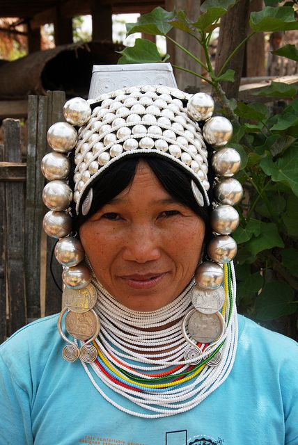Akha tribal woman in the village of Wan Pin, Shan state, Myanmar / Burma by sensaos, via Flickr: Ethnicities Photography, Wan Pin, Village, Tribal Women, Photo Sharing, Tribal Woman, U.S. States