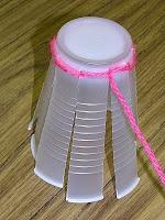 B Art Z- Elementary Art: Cup Weaving