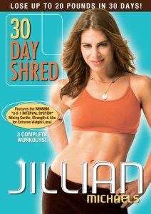 Actually complete the 30 Day Shred!