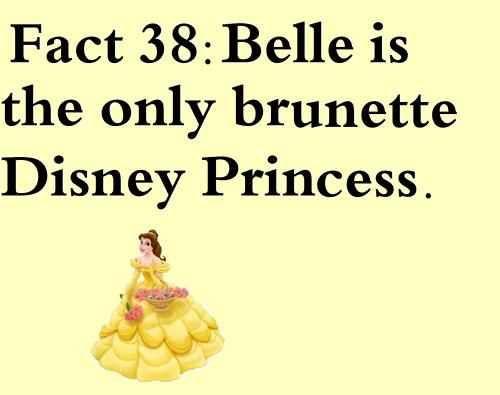 Brunette disney princesses