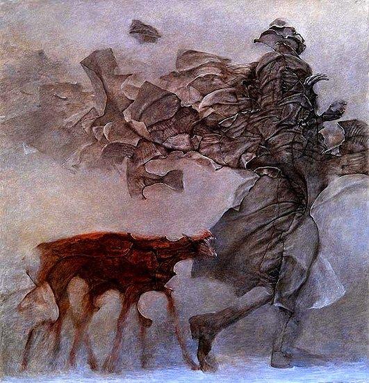 ZDZISLAW BEKSINSKI (1929-2005) , Polish painter