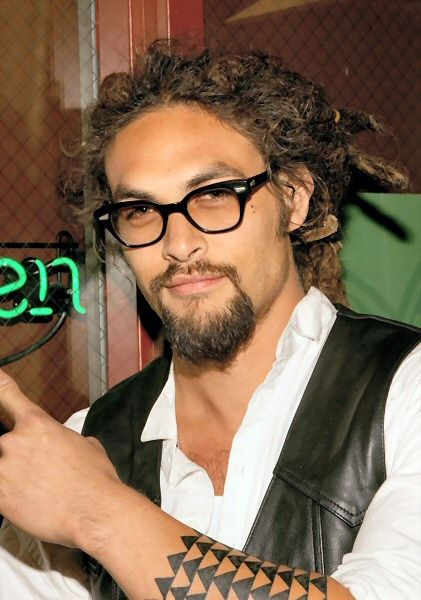 Jason Momoa-easily the sexiest man alive. Oh lordy..