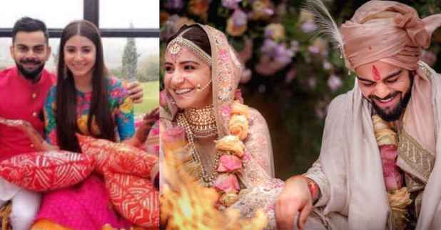 Virat Kohli and Anushka Sharma get married in Italy see first photos  After weeks of speculations Virat Kohli and Anushka Sharma have tied the knot in Florence Milan on Monday. The couple left the rustic closing week with their households for the auspicious rite and made their love for each and every different public on social media.  These days we have now promised each and every different to be certain in love for ever. Were in reality blessed to proportion the scoop with you.This pretty…