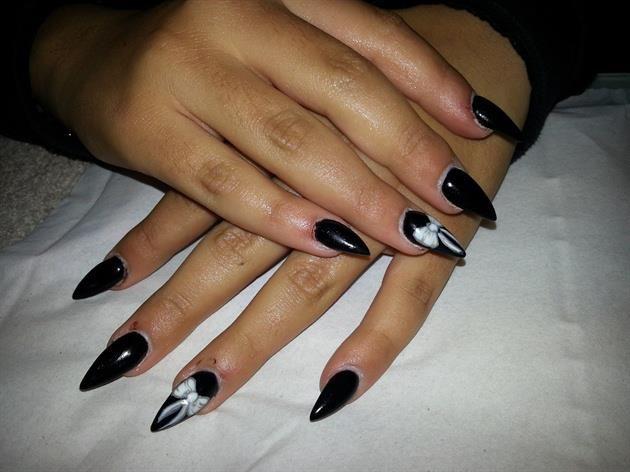 diseos de uas puntiagudas disenounas nails nailart