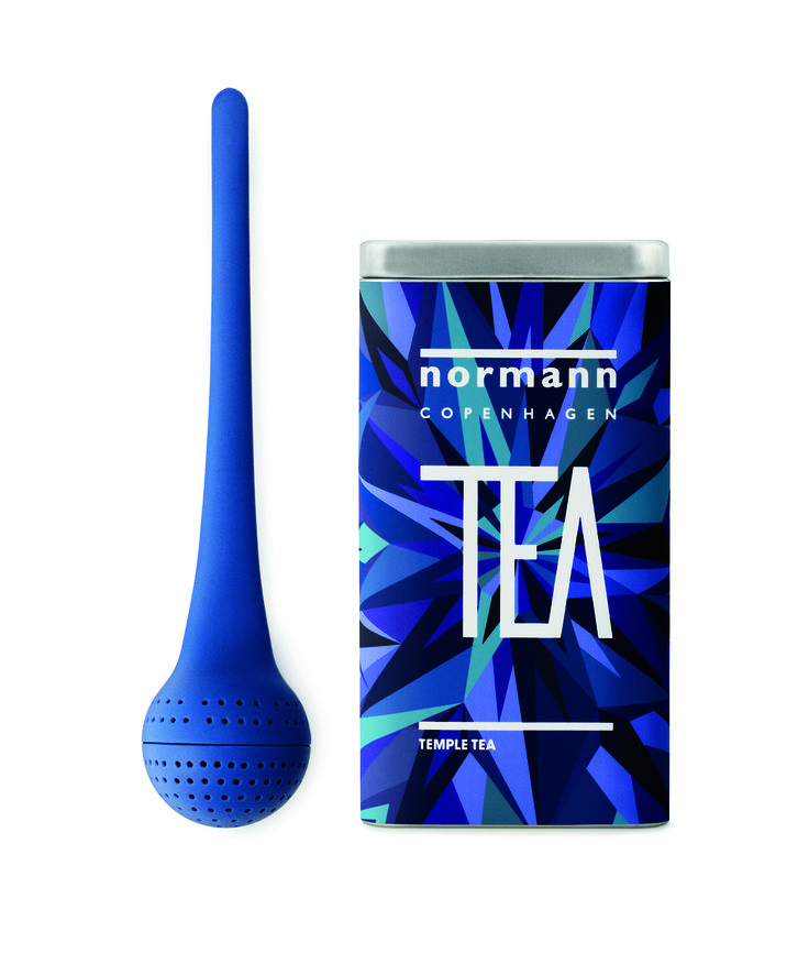 For those blue winter days we wish for a blue cup of tea