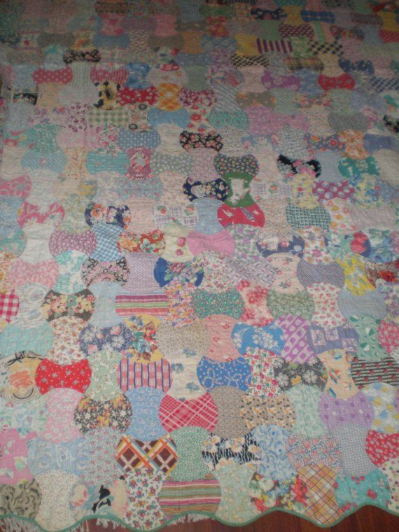 241 best Vintage feedsack quilts/fabric images on Pinterest ... : feedsack quilt - Adamdwight.com