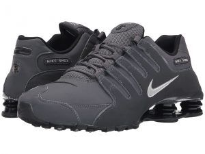 Nike Shox NZ (Dark Grey/Anthracite/Black) Men's  Shoes