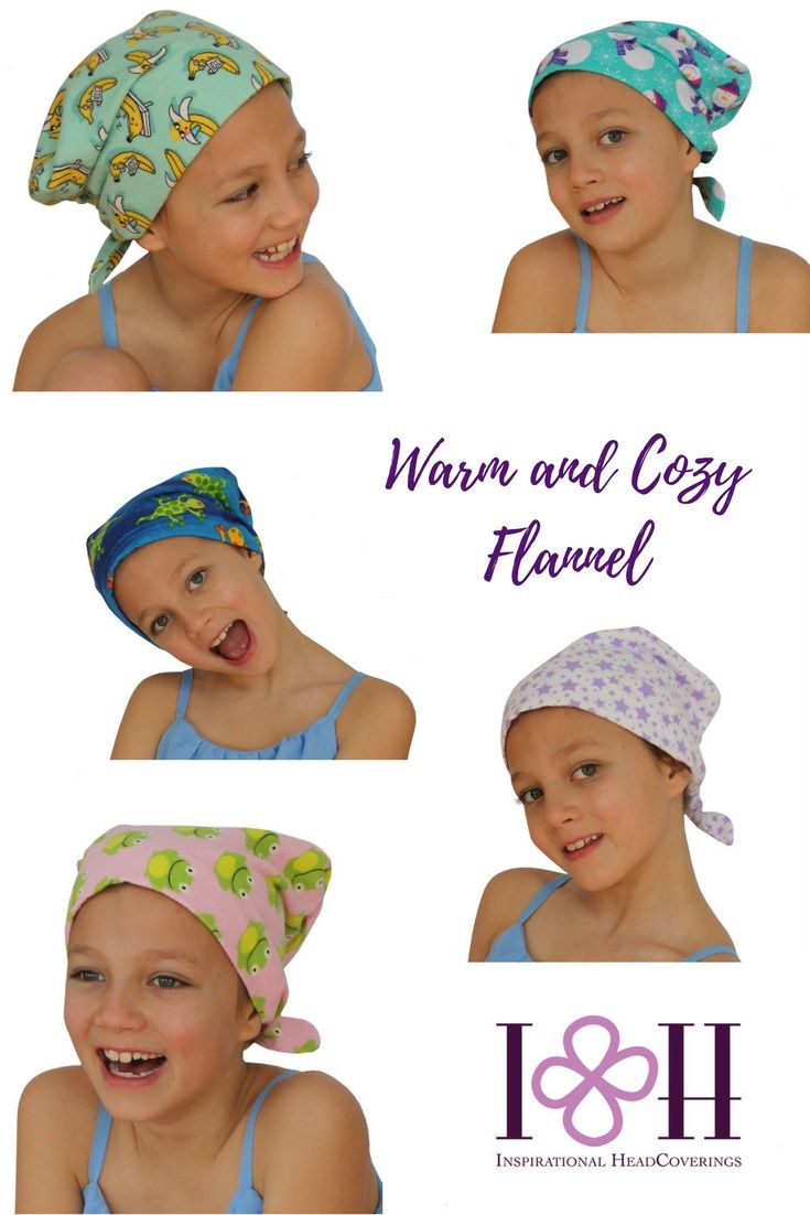 Warm and cozy flannel #headcovers for children with #hairloss.#childhoodcancer #cancergifts #cancer #chemo #alopecia #etsy #etsyshop #amazon #lovemyIHC