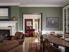 Find this Pin and more on Living Room Inspiration Sage Green Walls