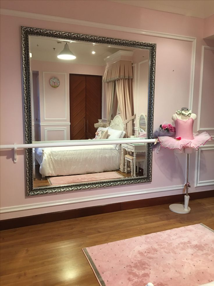 Ballerina Barre Little Girl Bedroom Dance Room