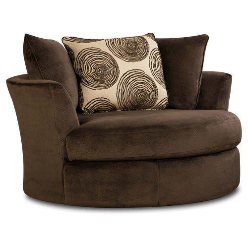Found it at Wayfair - Dracaena Transient Swivel Barrel Chair