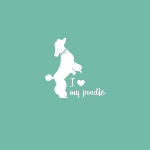 Hey, I found this really awesome Etsy listing at https://www.etsy.com/listing/185926628/standard-poodle-miniature-poodle-i-love