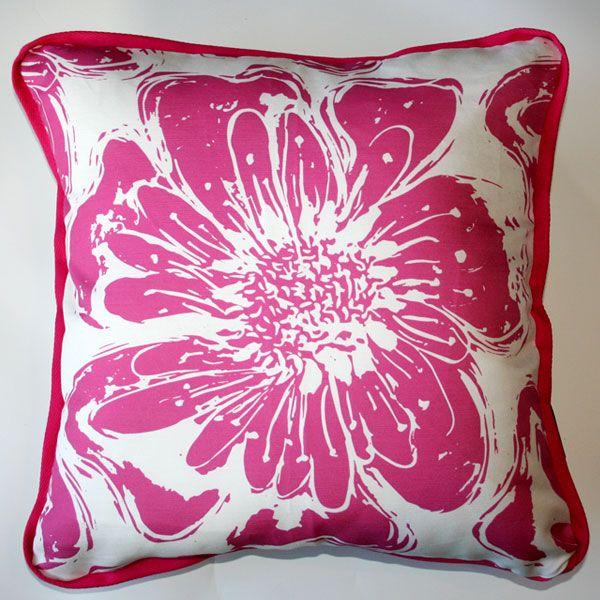 Cushion Spring Pink - Katz Designer Textiles