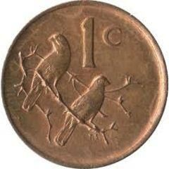 South African one cent