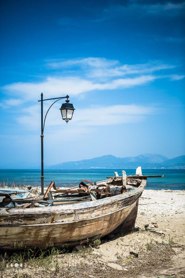 Old boat, old port. Preveza, Greece