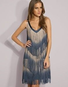 ... fringe dress by vero moda all over fine tassel fringing with dip