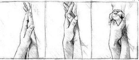 Dibujos de manos entrelazadas de amor a lapiz - Imagui