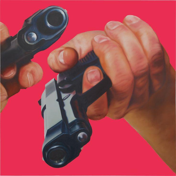 James Rosenquist, Ceci N'est Pas un Pistolet, 1996