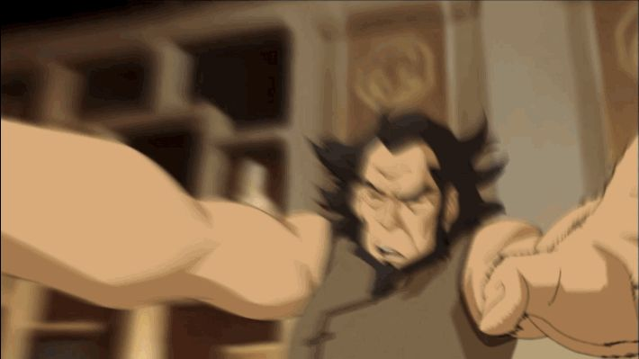 "Speaking of airbending, is this a clip of Bumi showing some newfound skills? | 11 Mind-Bending Moments From The ""Avatar: Legend Of Korra"" Season 3 Trailer"