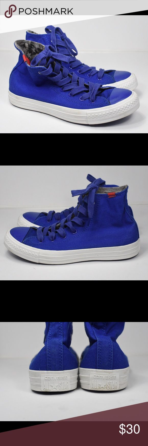 Converse All Star Hi Wiz Khalifa Blue Size W 8 M 6 Excellent Condition Converse Shoes Sneakers