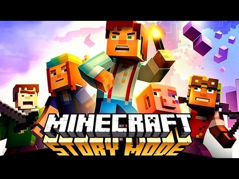 Майнкрафт История Игры как Мультики для Детей Minecraft Story Mode
