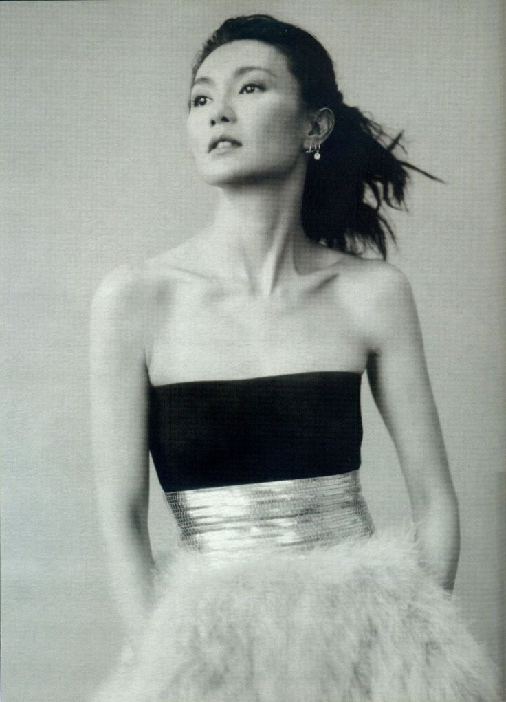 Maggie Cheung, by Paolo Roversi