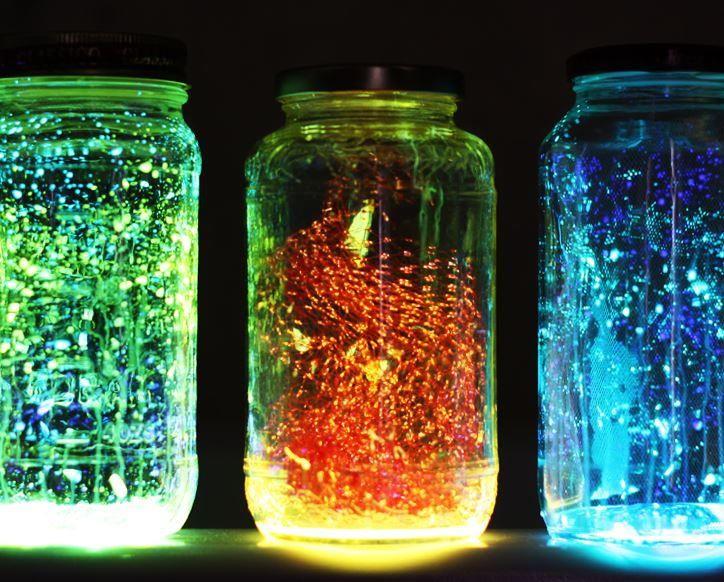 Floating Fairies Glow Jar | AllFreeKidsCrafts.com