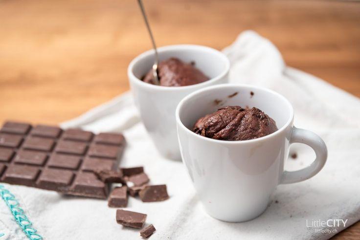 ⚡️Blitzlichter⚡️ Blitzschneller Tassenkuchen mit Schokolade & Bananen, ohne Ei & Butter