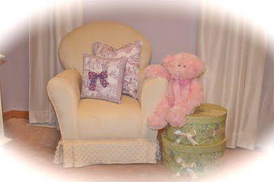 Design Dazzle European Toile And Lavender Baby Nursery » Design Dazzle