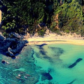 The romantic Elias beach in Skiathos