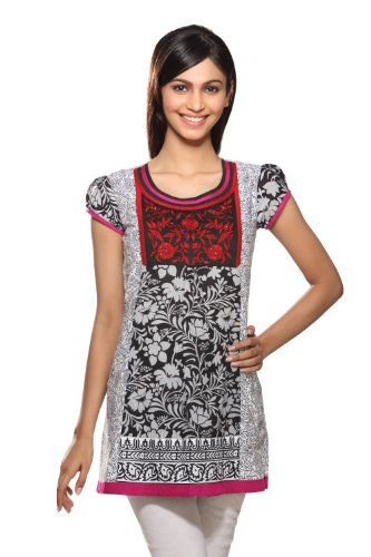Akkriti Women's Indian Kurti Medium Red. From #Akkriti. Price: $32.99
