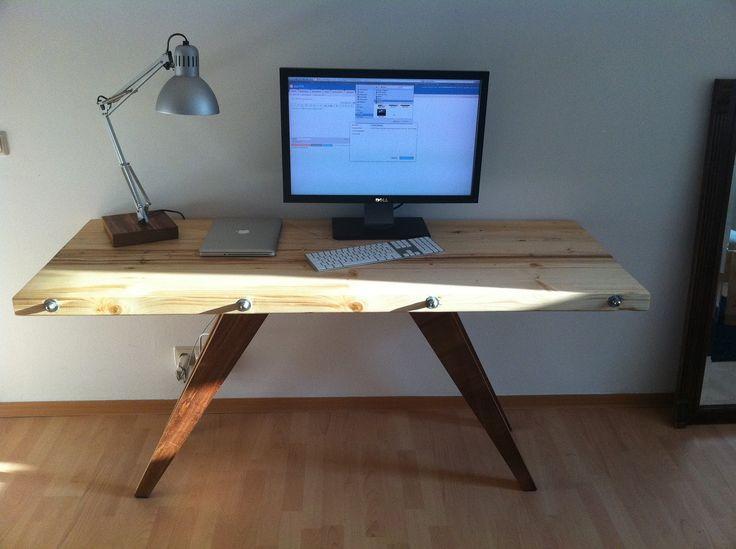 Admirable 17 Best Cool Desk Ideas On Pinterest Desk Ideas Desks And Desk Largest Home Design Picture Inspirations Pitcheantrous