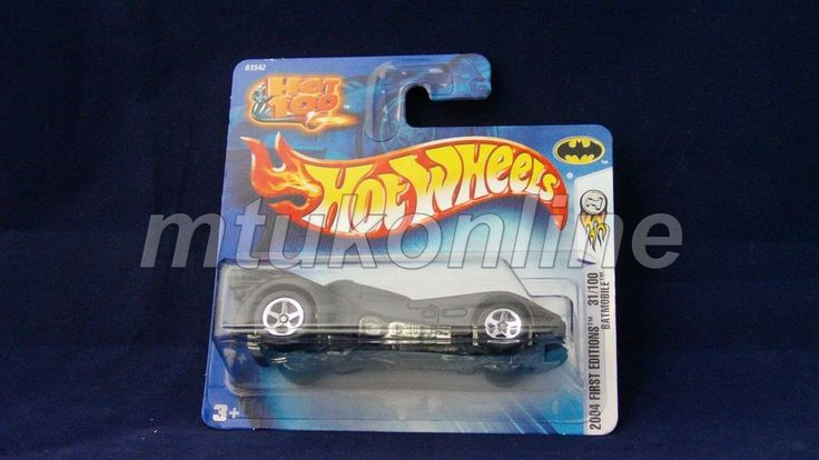 HOTWHEELS 2004 FIRST EDITIONS | BATMOBILE | 31/100 | 031-2004 | B3542 | HOT100