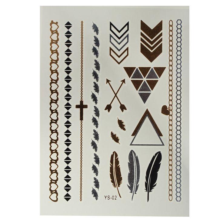 Arany tetováló matrica2