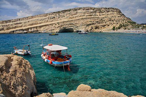 Matala - Crete, Greece