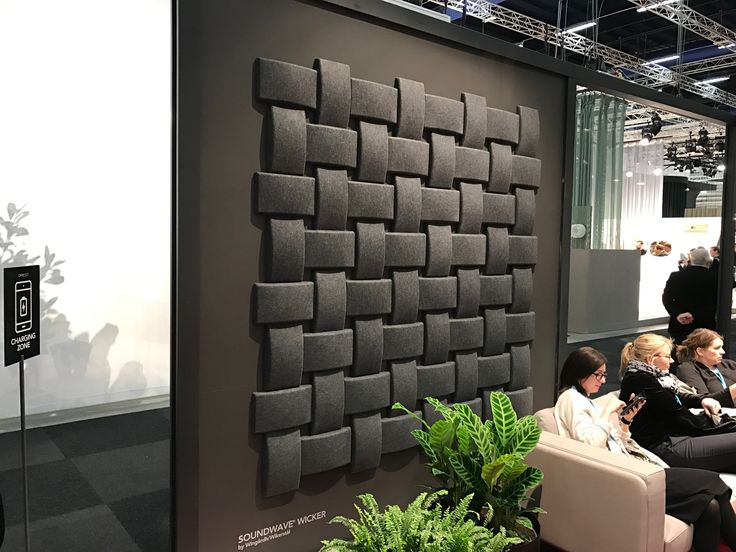 Offecct Soundwave Wicker. Soundabsorber. Für Eine Optimale Raumakustik.