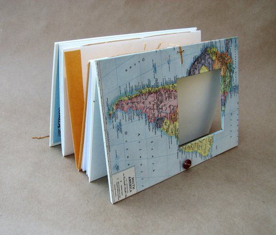 Personalized South America Journal with Pockets and Envelopes