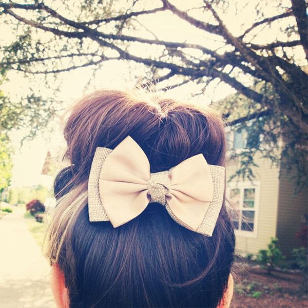 Bun with Bow - 11 Summer Hair Buns