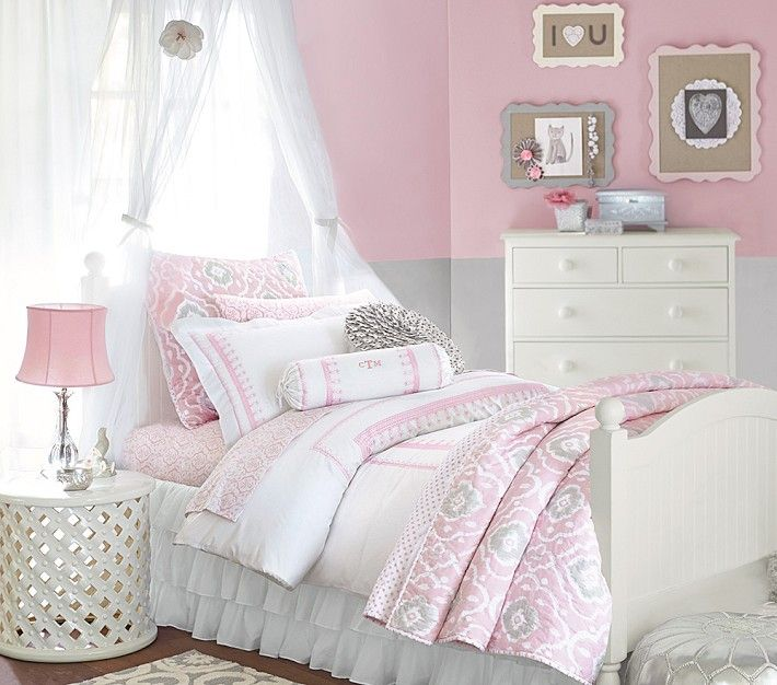25 best ideas about ruffle bedspread on pinterest 12889 | fedf3819e0edc9ae0c7b0620447ce909 toddler girl pink bedroom kids bedroom ideas for girls pink